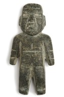 Carved stone figurine