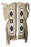 Jicarilla Apache Beaded Leggings