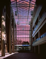 DMNS south atrium at dawn