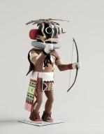 Chaveyo Kachina Doll