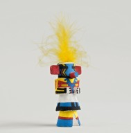 Heheyah - Lightning Kachina Doll
