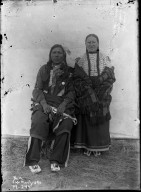 Sioux man and wife