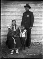 Joe Six Toes (policeman), wife and nephew