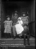 Benjamin Brave (teacher) and family