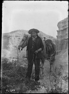 Sioux man (may be John Gray-Eagle-Tail)