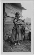 Jicarilla Apache mother and child