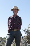 Dr. Bob Raynolds, DMNS Research Associate, poses on the Kaiparowits Plateau.