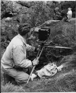 Kenneth Bigwood photographing