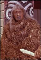 Old Maori lady of Ruatoki, Tuhoe tribe