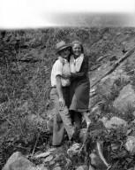 Robert Landberg and friend