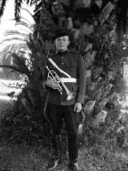 Bugler in Uniform