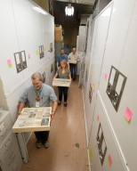 Museum interior - Zoology Collections move to Avenir Collections Center