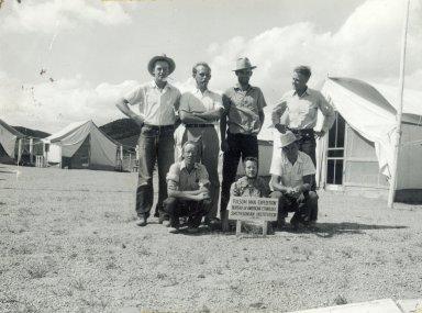 Lindenmeier site workers
