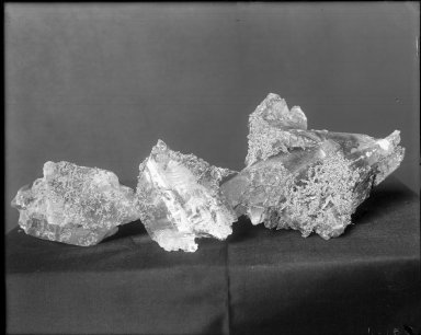 Specimen of native silver on calcite