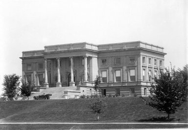 Southwest view of Museum building, 1908
