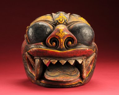 Painted Balinese mask
