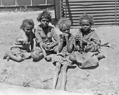 Aborigine children