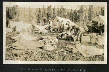 Breaking Camp at Clark's