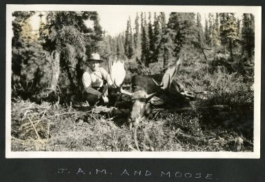 J. A. McGuire and Moose