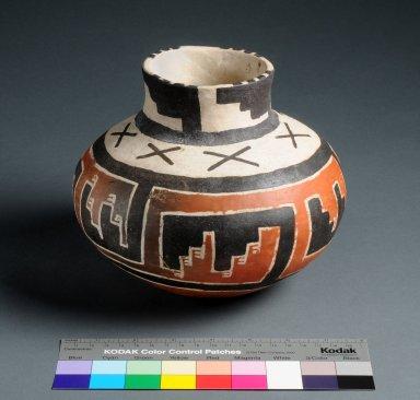 Ancestral Pueblo Clay Jar with ruler