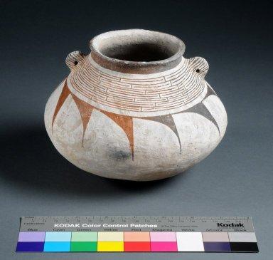 Ancestral Pueblo Clay Seed Jar