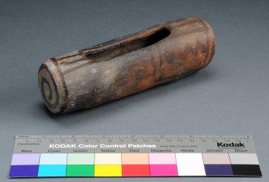 Ancestral Pueblo Clay Feather Holder