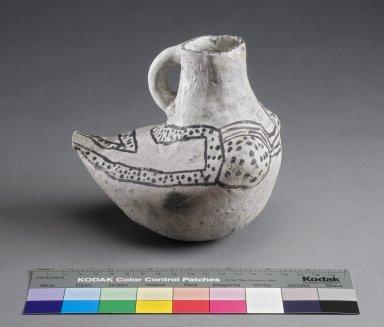Ancestral Pueblo Clay Effigy Pitcher