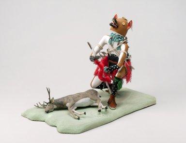 Kwèwkatsina - Wolf Kachina Doll