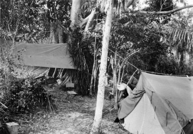 Museum camp scene