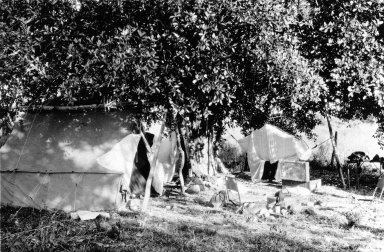 Museum camp scene, Descalvados (Ranch).
