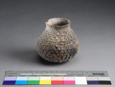 San Juan Ancestral Pueblo Clay Necked Jar