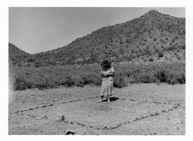 Ruth Underhill in the Field