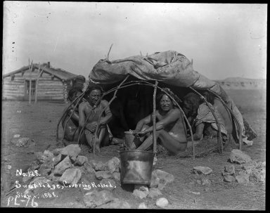 Sweat Lodge, Covering Raised