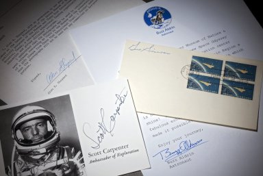 Group of Documents signed by U.S. Astronauts