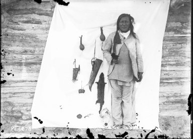 Medicine Man with Ceremonial Objects