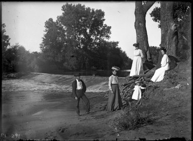 Aunt Phoebe at Sullivan Dam
