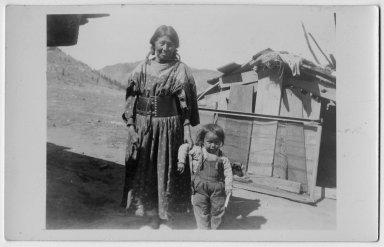 Roy Cavazone and his grandmother.