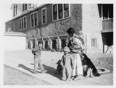 Mrs. Otole and children