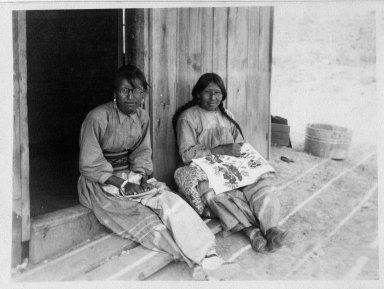 Paulina Harina Monarco and Santa Harina Manwell