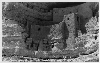 Anasazi ruin at Montezuma Castle National Monument, Arizona