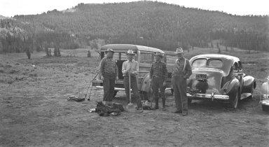 Excavation crew