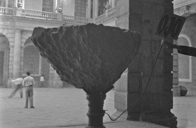Meteorite on Pedestal