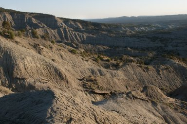 Early evening shadows fall on the Kaiparowits Plateau.