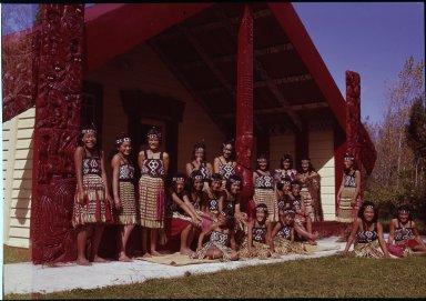 Young of Ngati Pikiao tribe.