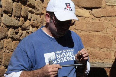In the field with Steve Nash at Mesa Verde