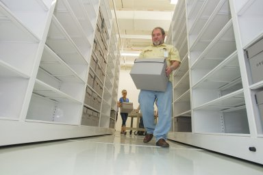 Archives move to ECF Building