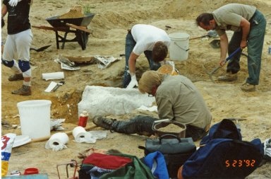 Excavation in Ken Caryl Ranch