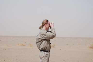 James Hagadorn in Saudi Arabia.