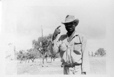 Unknown Australian Man