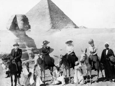 Underhill Family at the Great Pyramids